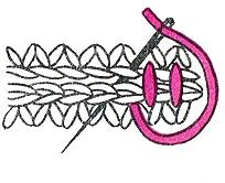 сшивание тапочек