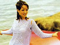 пуловер со съемными рукавами