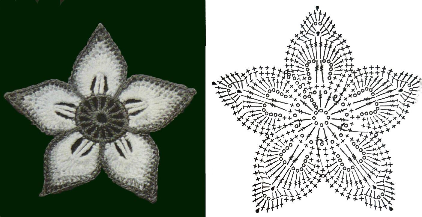 Тут показано пошагово, как связать подобный мотив.  Мотив ирландского кружева.
