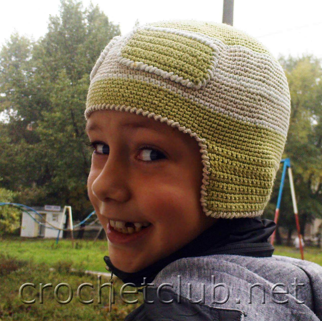 Летняя детская шапочка спицами, схема. Мастер-класс по