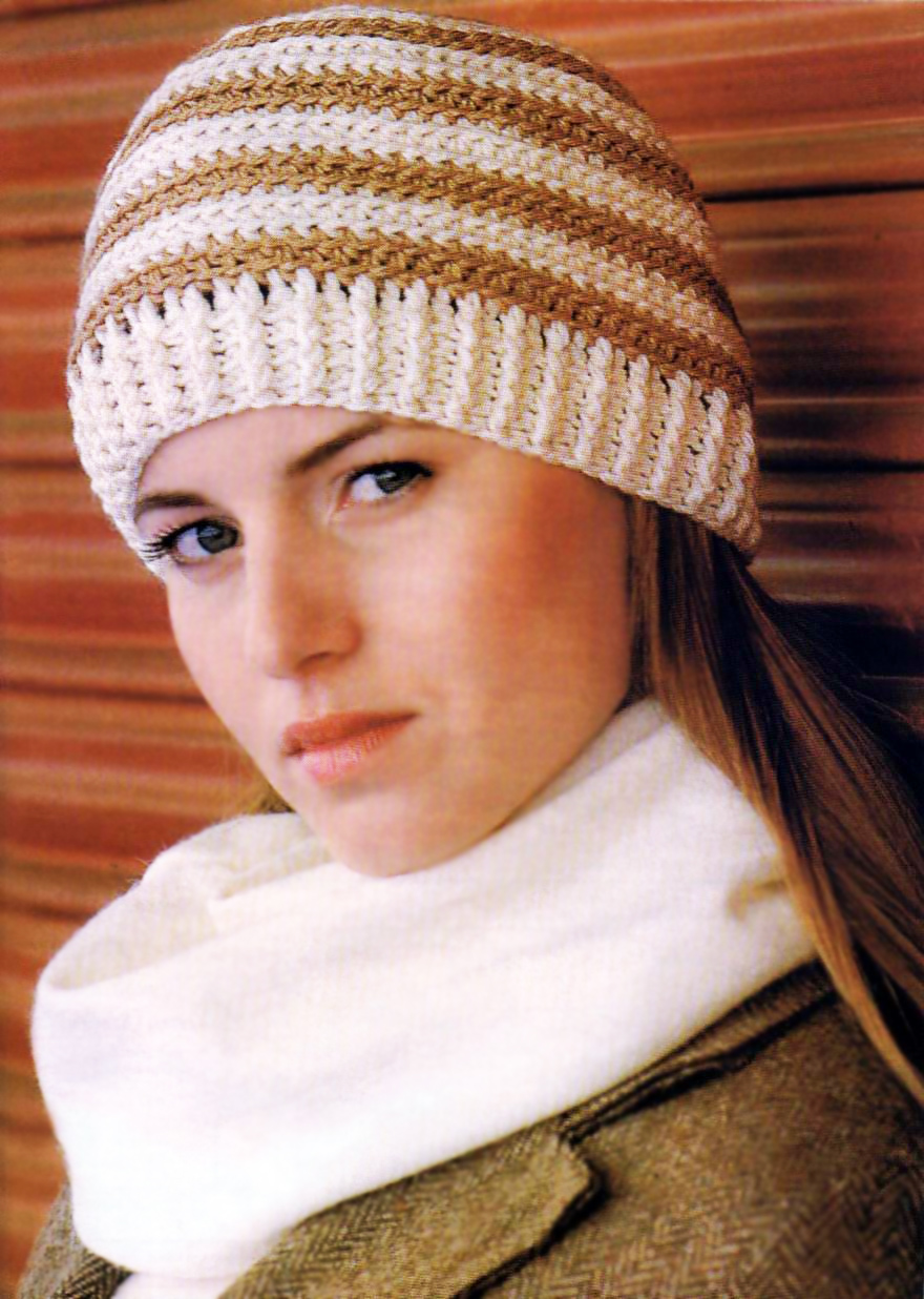 Теги: шапочка крючком ажурная шапка крючком шапочка для девочки шапочка...