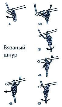 вязаный шнур