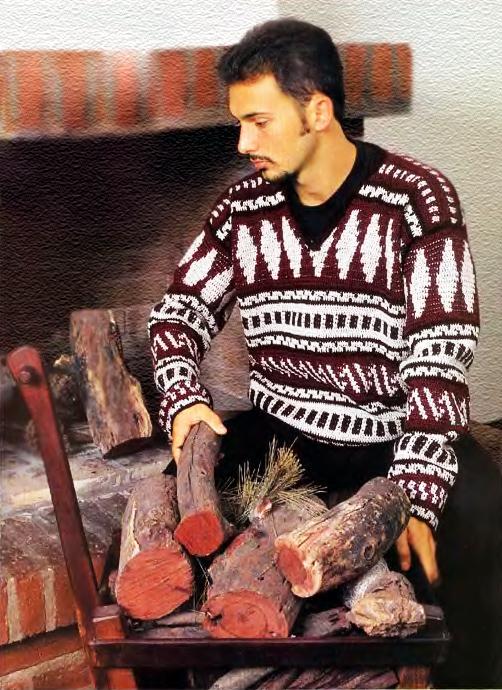 Рубрика: Вязание для мужчин,