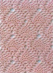узор №3 для ажурной шали