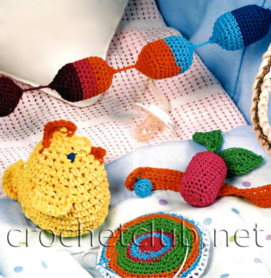 вязаные погремушки браслетик и игрушки вязание крючком блог настика