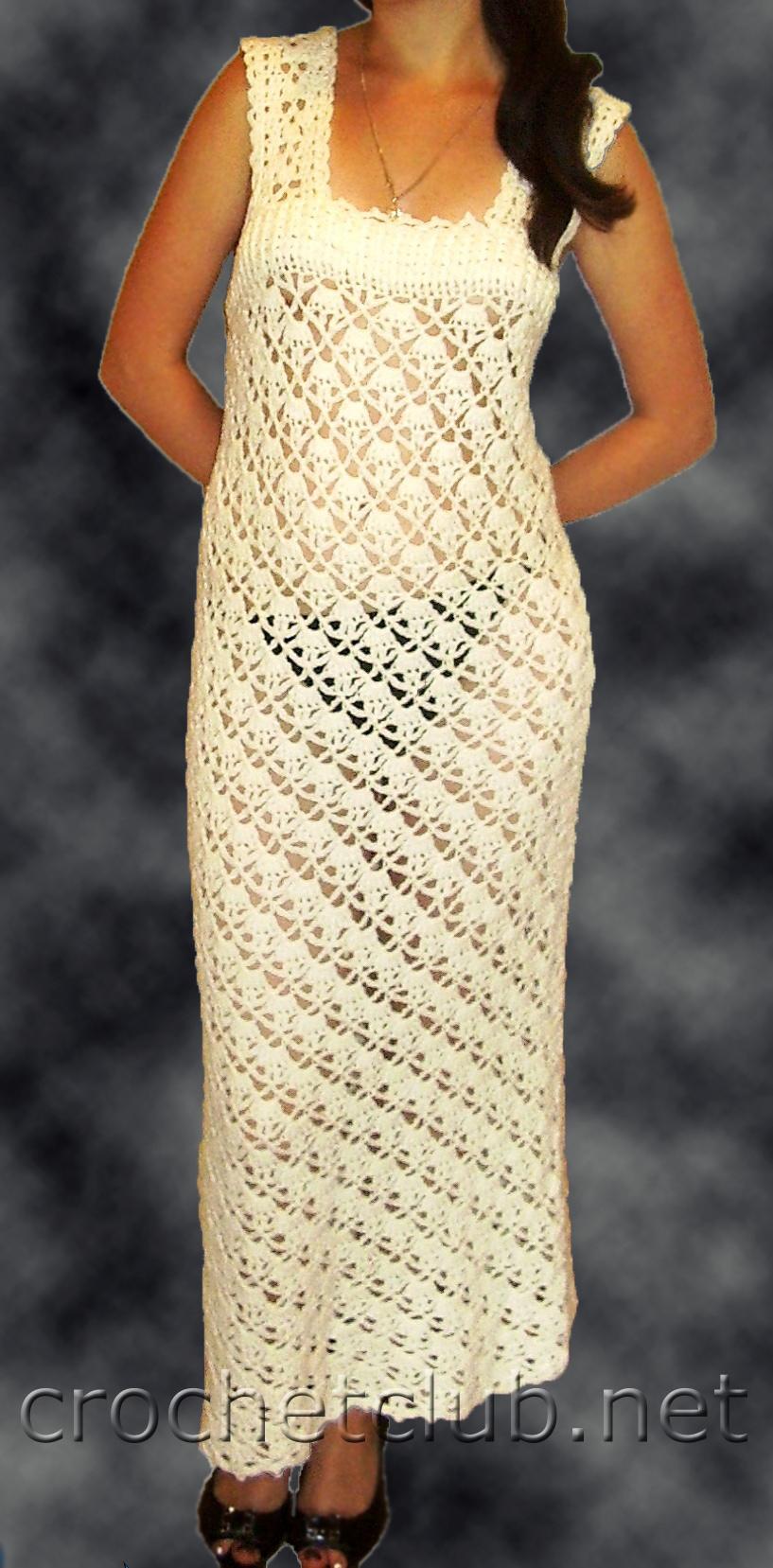 Вязание крючком для женщин сарафанов 67