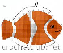 схема рыбки-прихватки.