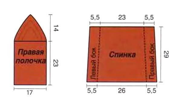 Схемы вязания модных кофточек