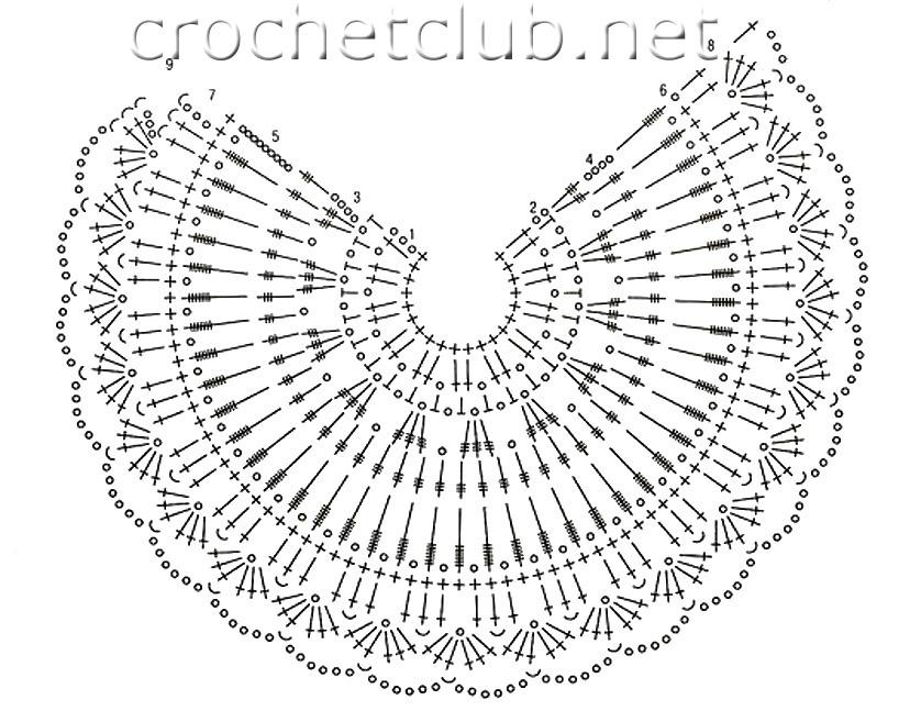 Плотность вязания: 18 ст. х 10