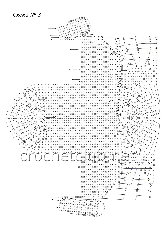 пухлые цветочки крючком схема и описание