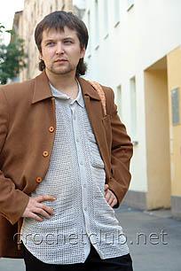 вязаная мужская рубашка