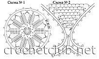 схемы туники 1 и 2