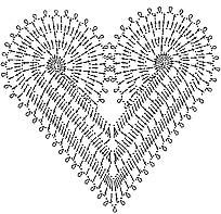 схема сердечка
