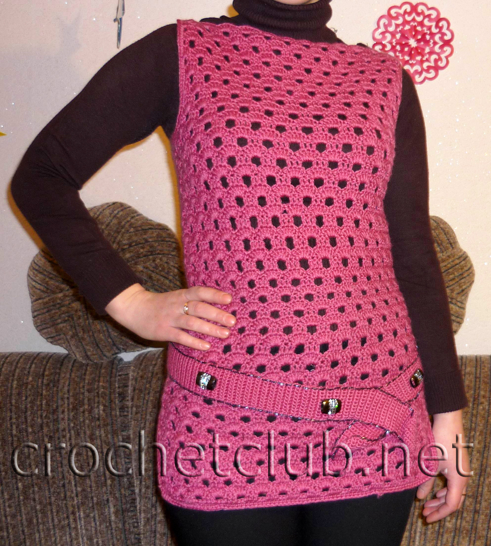 вязание безрукавок для женщин схемы