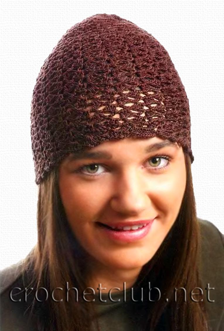 Вязаная шапка маска схема
