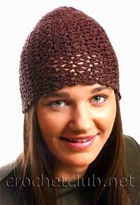 коричневая шапочка
