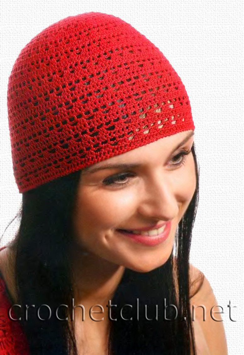 Женские шапки крючком со схемами фото 406