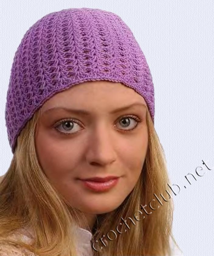 Женская шляпка крючком схема фото 550