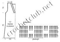 выкройка и схема туники 1