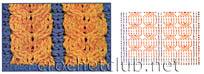 схема аранового джемпера 2