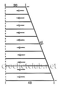 схема сборки сарафана