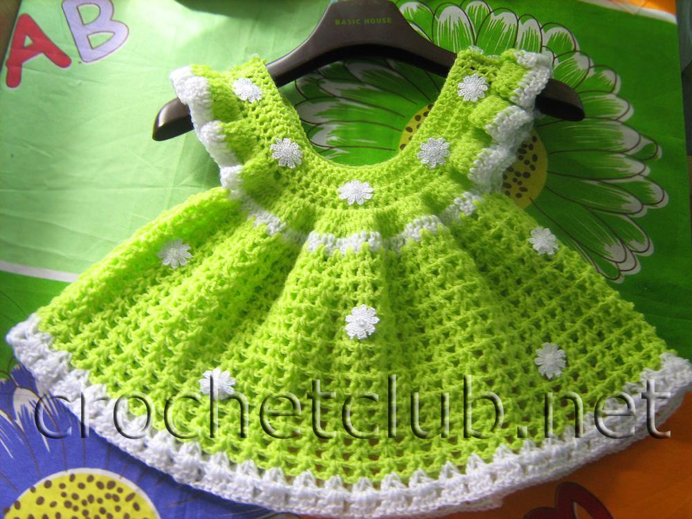 Схемы вязания детского платья 8 12 месяцев