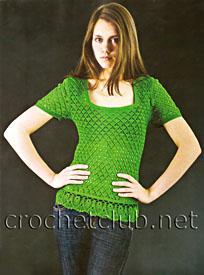 футболка зеленого цвета
