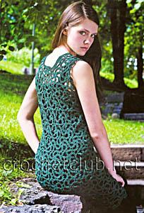 платье из ирландских мотивов