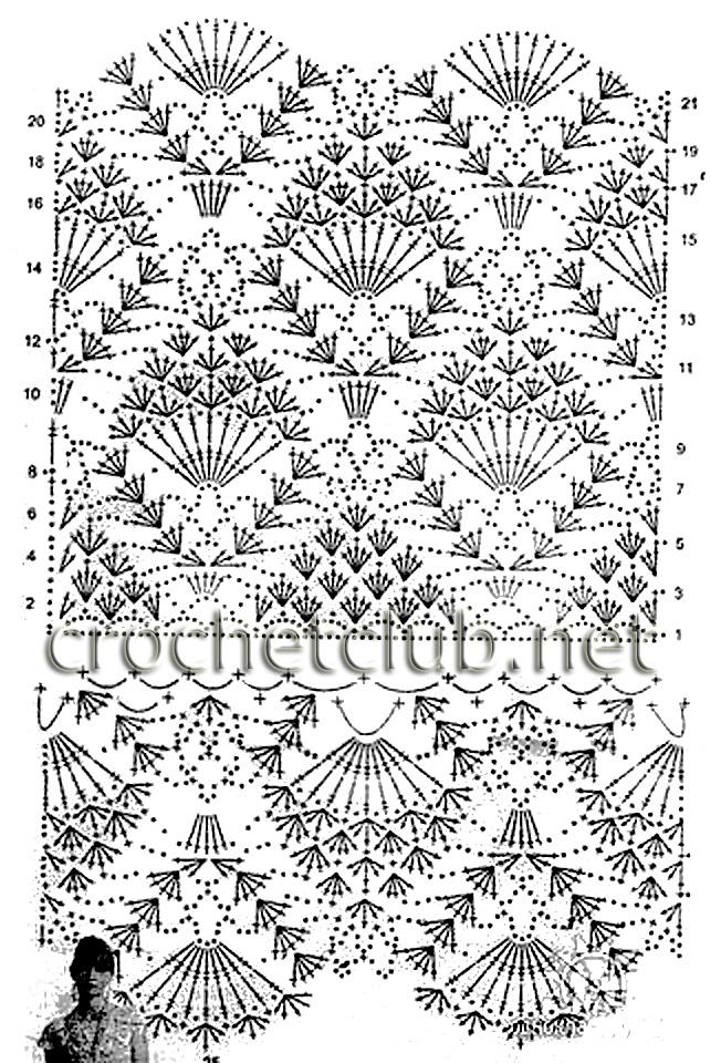 Летний сарафан крючком - Вязание Крючком. Блог Настика