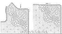 схема стильного вязаного жилета 2