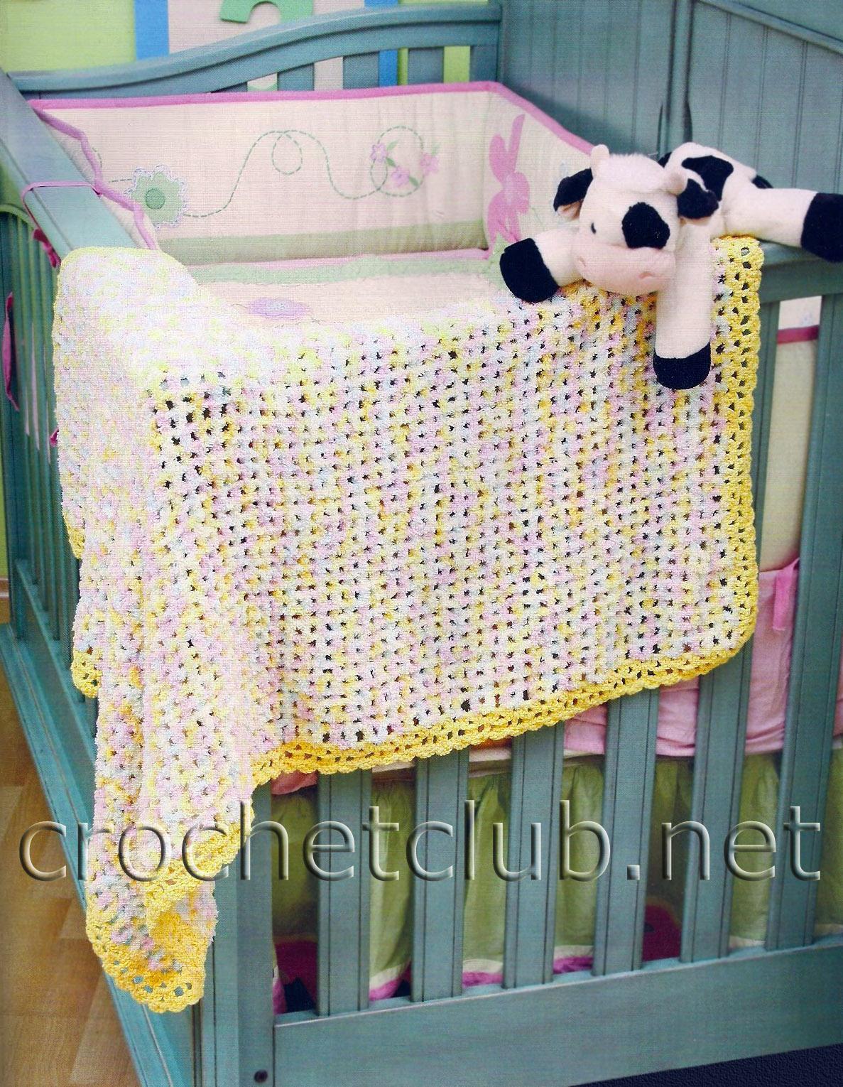 Такое приятное наощупь, нежное и уютное одеяльце смогут связать даже начинающие вязальщицы.  Схема и описание на...