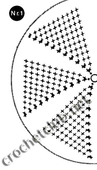 Основной узор (схема № 1):