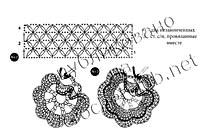 схемы берета, связанного крючком 2 и 3