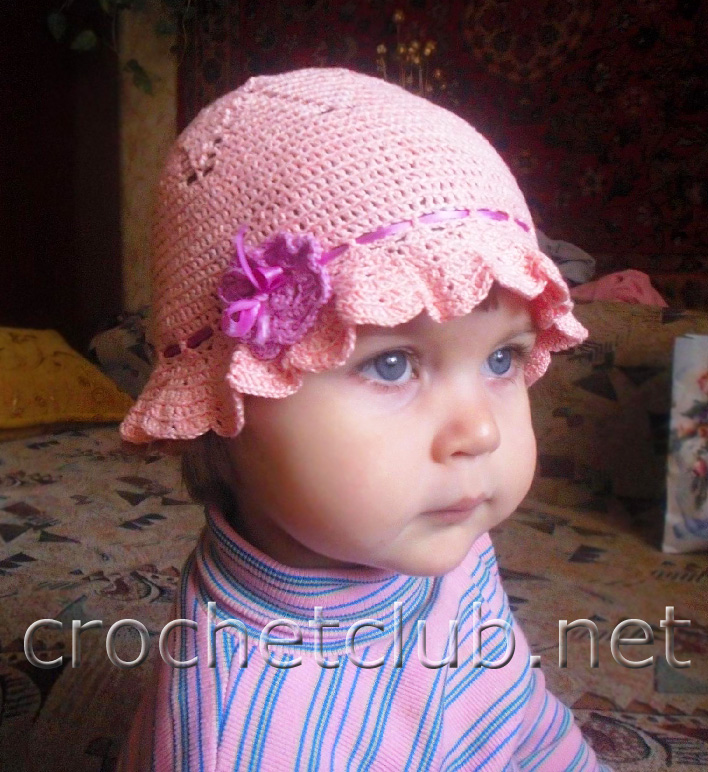 Детская панама крючком схема и описание фото 549