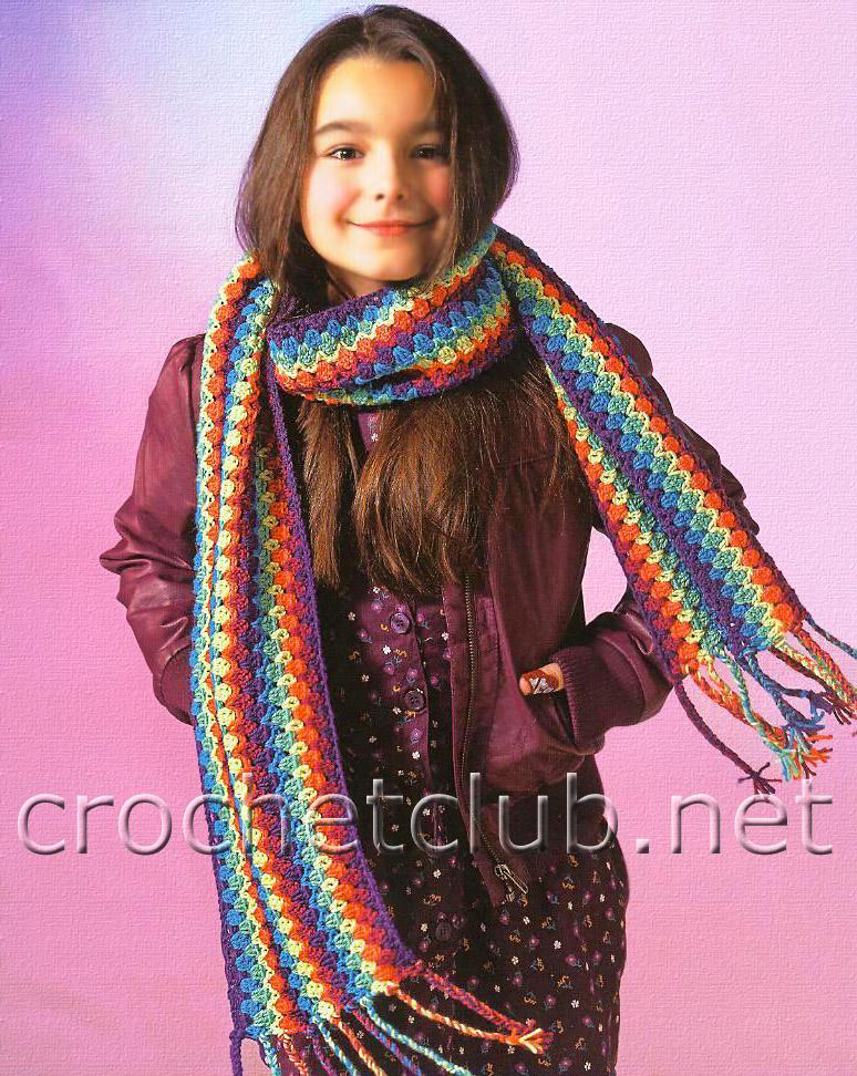 Длина шарфа: 170 см