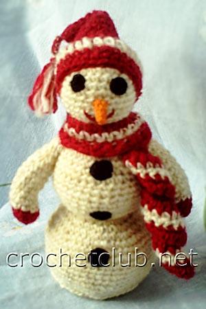 игрушка-снеговик