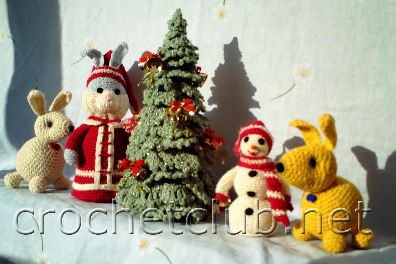 Схема вязания новогодних игрушек
