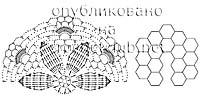 схема ажурной накидки