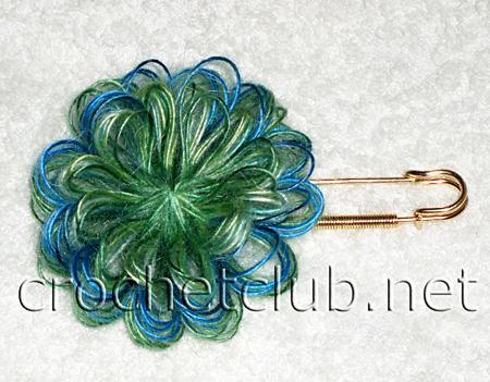вязание цветов на тенерифе