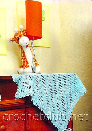 одеяло для малыша крючком