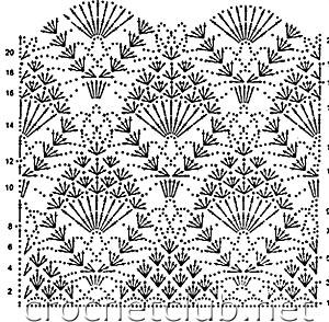 схема безрукавки 1