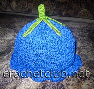 шляпка колокольчик