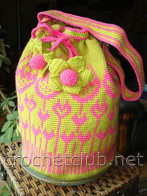 сумка тюльпан 1