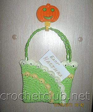 летняя сумочка-ридикюль для девочки