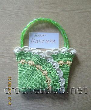 летняя сумочка-ридикюль для девочки 1