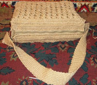 Вязание льняной нитью