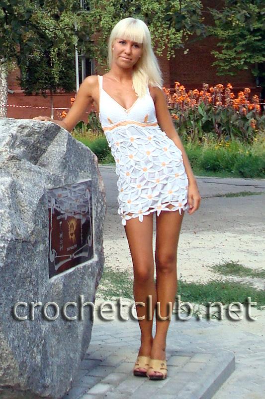 Платья сарафаны летние крючком