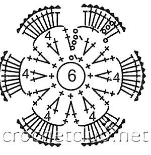 схема цветочка 2