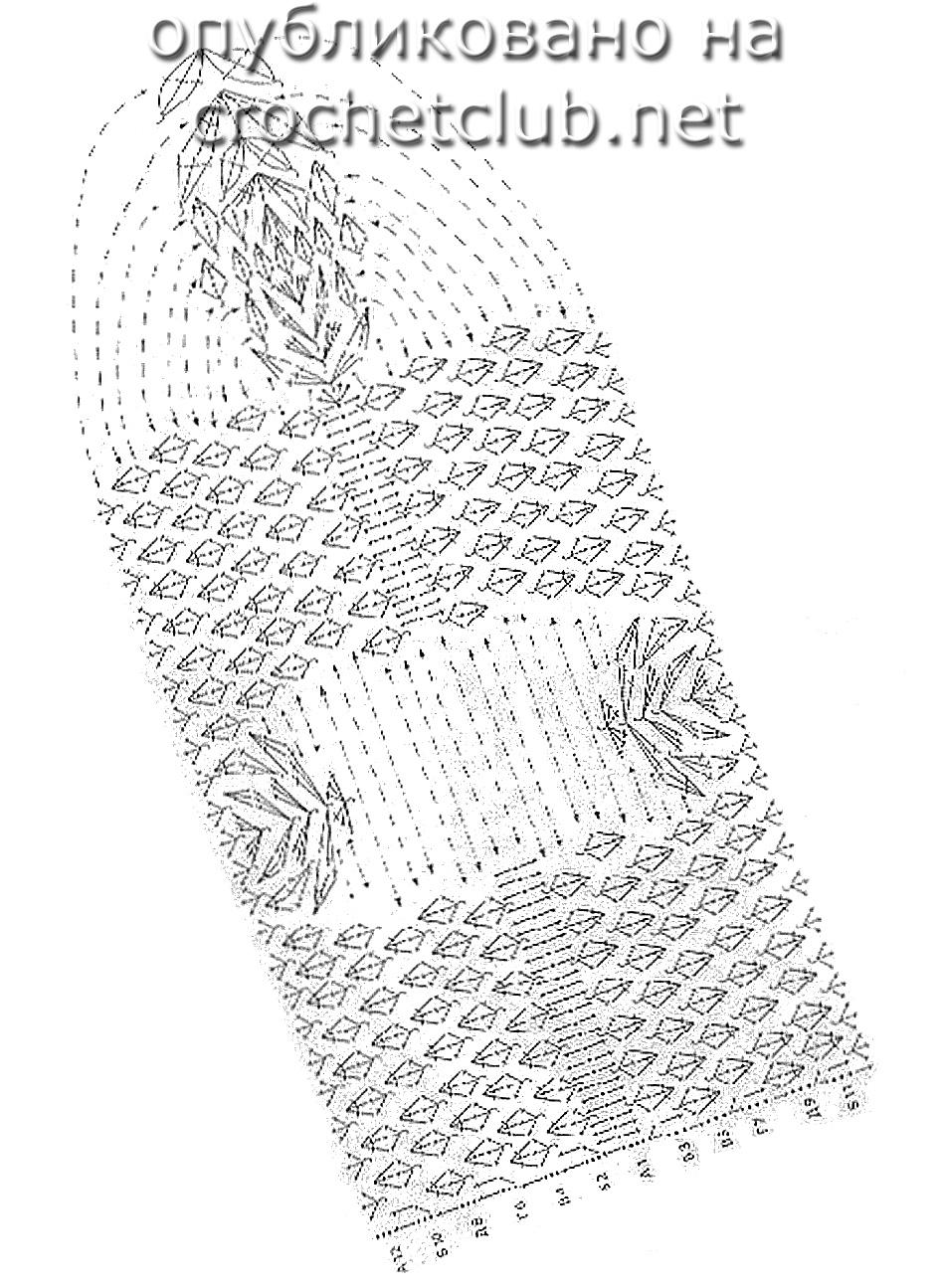 связать носки схема