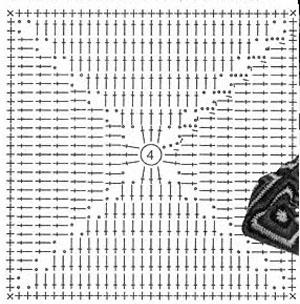 плотный квадрат крючком схема права нас